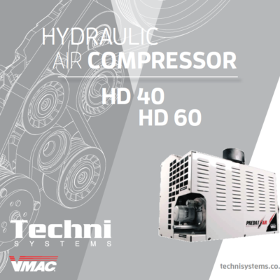 VMAC Hydraulic Driven Air Compressor HD40 HD60